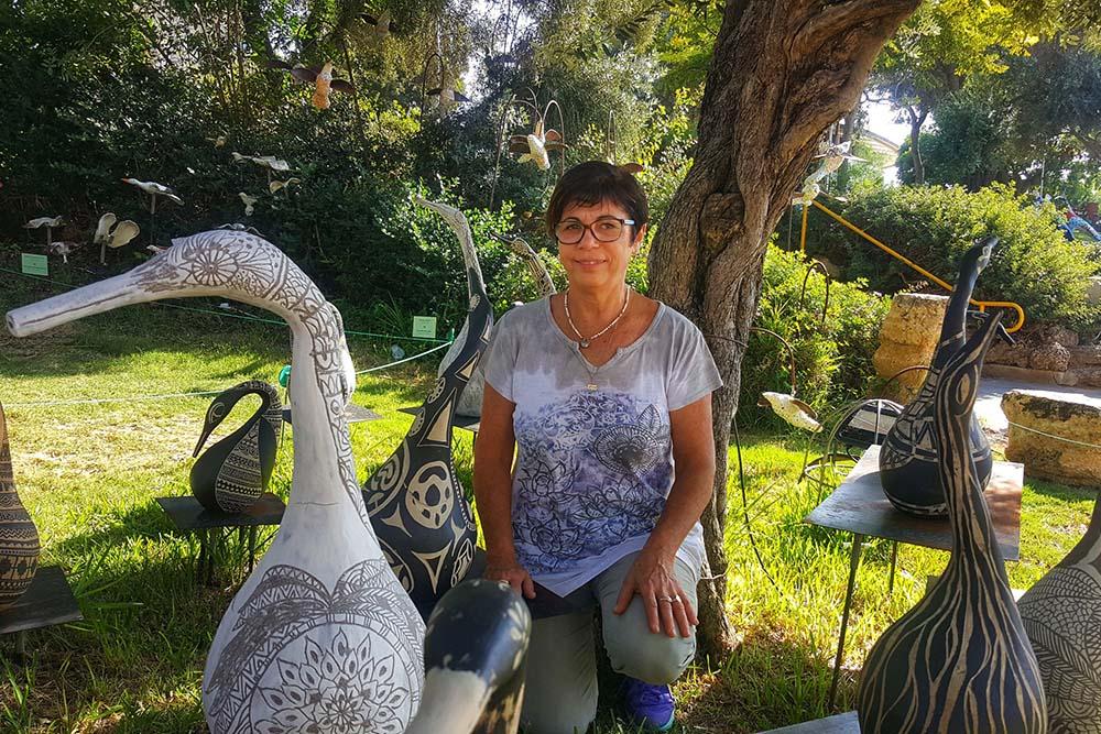 מיזם קהילתי ציפורי גיל | אמנית שלומית חפר